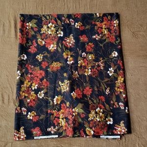 "Vintage Autumn Shades Cotton Fabric 2y X 44"""